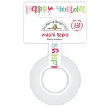 Doodlebug Design - Milk and Cookies Collection - Christmas - Washi Tape - Happy Holidays