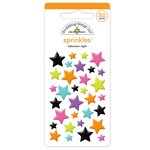 Doodlebug Design - Booville Collection - Halloween - Sprinkles - Self Adhesive Stars - Halloween Night