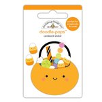Doodlebug Design - Booville Collection - Halloween - Doodle-Pops - 3 Dimensional Cardstock Stickers - Trick or Treats