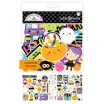 Doodlebug Design - Booville Collection - Halloween - Odds and Ends - Die Cut Cardstock Pieces