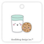 Doodlebug Design - Milk and Cookies Collection - Christmas - Collectible Pins - Milk and Cookies
