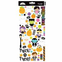 Doodlebug Design - Booville Collection - Halloween - Cardstock Stickers - Icons