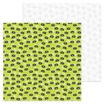 Doodlebug Design - Booville Collection - Halloween - 12 x 12 Double Sided Paper - Spunky Spiders