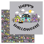 Doodlebug Design - Booville Collection - Halloween - 12 x 12 Double Sided Paper - Booville