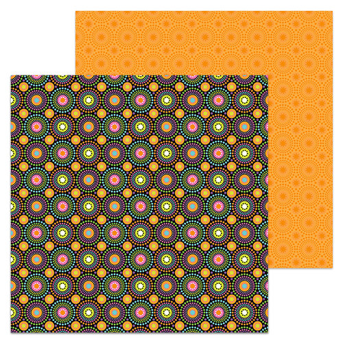 Doodlebug Design - Booville Collection - Halloween - 12 x 12 Double Sided Paper - Hocus Pocus