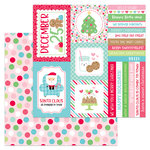 Doodlebug Design - Milk and Cookies Collection - Christmas - 12 x 12 Double Sided Paper - Christmas Party