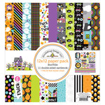 Doodlebug Design - Booville Collection - Halloween - 12 x 12 Paper Pack