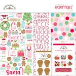 Doodlebug Design - Milk and Cookies Collection - Christmas - Essentials Kit