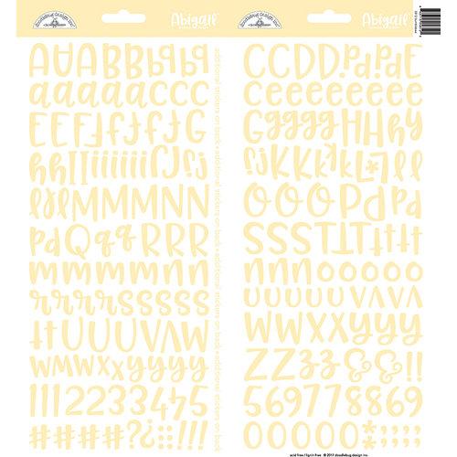 Doodlebug Design - Cardstock Stickers - Abigail - Bumblebee