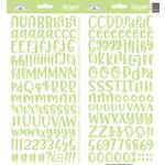 Doodlebug Design - Cardstock Stickers - Abigail - Limeade
