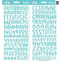 Doodlebug Design - Cardstock Stickers - Abigail - Swimming Pool