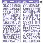 Doodlebug Design - Cardstock Stickers - Abigail - Lilac