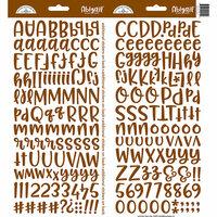 Doodlebug Design - Cardstock Stickers - Abigail - Bon Bon