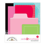 Doodlebug Design - So Punny Collection - Create-A-Card - Cards and Envelopes - Love Assortment