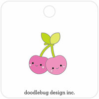 Doodlebug Design - Sweet Summer Collection - Collectible Pins - Cheery Cherries