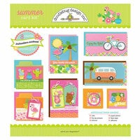 Doodlebug Design - Sweet Summer Collection - Card Kit - Summer