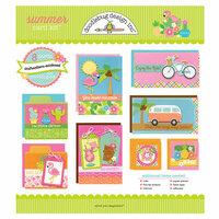 Doodlebug Design - Sweet Summer Collection - Card Kit - Summer