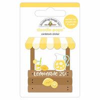 Doodlebug Design - Sweet Summer Collection - Doodle-Pops - 3 Dimensional Cardstock Stickers - Lemonade Stand