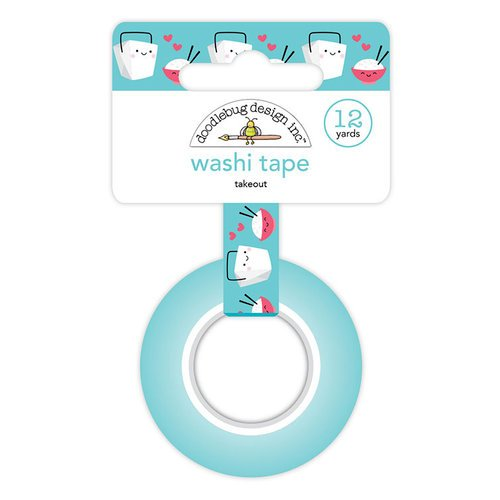 Doodlebug Design - So Punny Collection - Washi Tape - Takeout