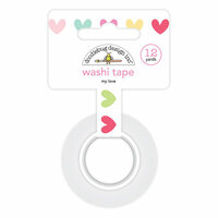 Doodlebug Design - So Punny Collection - Washi Tape - My Love