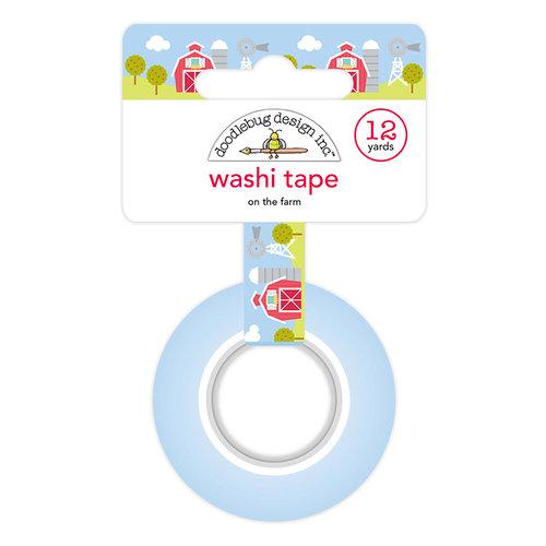 Doodlebug Design - Down on the Farm Collection - Washi Tape - On the Farm