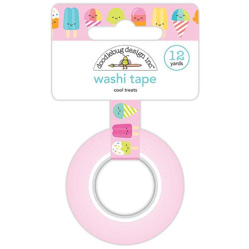 Doodlebug Design - Sweet Summer Collection - Washi Tape - Cool Treats