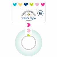 Doodlebug Design - Hello Collection - Washi Tape - Lots of Love