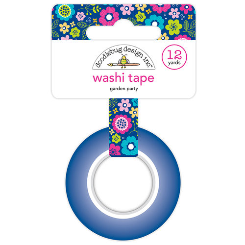 Doodlebug Design - Hello Collection - Washi Tape - Garden Party