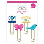 Doodlebug Design - Hello Collection - Jelly Clips - Hello