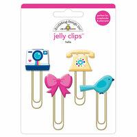 Doodlebug Design - Hello Collection - Jelly Clips - Hello