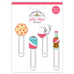 Doodlebug Design - So Punny Collection - Jelly Clips - Fast Foodies