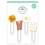 Doodlebug Design - So Punny Collection - Jelly Clips - Rise and Shine