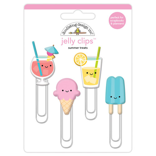 Doodlebug Design - Sweet Summer Collection - Jelly Clips - Summer Treats