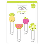 Doodlebug Design - Sweet Summer Collection - Jelly Clips - Tutti Fruities