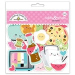 Doodlebug Design - So Punny Collection - Odds and Ends - Die Cut Cardstock Pieces