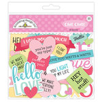 Doodlebug Design - So Punny Collection - Chit Chat - Die Cut Cardstock Pieces