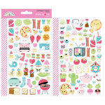 Doodlebug Design - So Punny Collection - Cardstock Stickers - Mini Icons