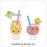 Doodlebug Design - Sweet Summer Collection - Collectible Pins - Paradise Punch
