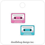 Doodlebug Design - Sweet Summer Collection - Collectible Pins - Tiny Tapes