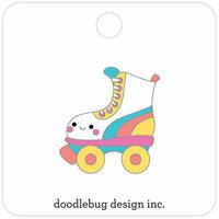 Doodlebug Design - Sweet Summer Collection - Collectible Pins - Let's Skate