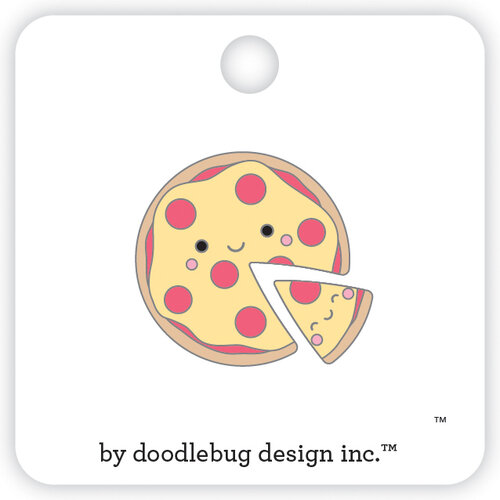 Doodlebug Design - So Punny Collection - Collectible Pins - Pizza Pals