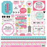Doodlebug Design - So Punny Collection - 12 x 12 Cardstock Stickers - This and That