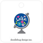 Doodlebug Design - Hello Collection - Collectible Pins - Hello World