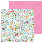 Doodlebug Design - So Punny Collection - 12 x 12 Double Sided Paper - So Punny