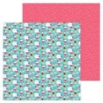Doodlebug Design - So Punny Collection - 12 x 12 Double Sided Paper - Soy Happy