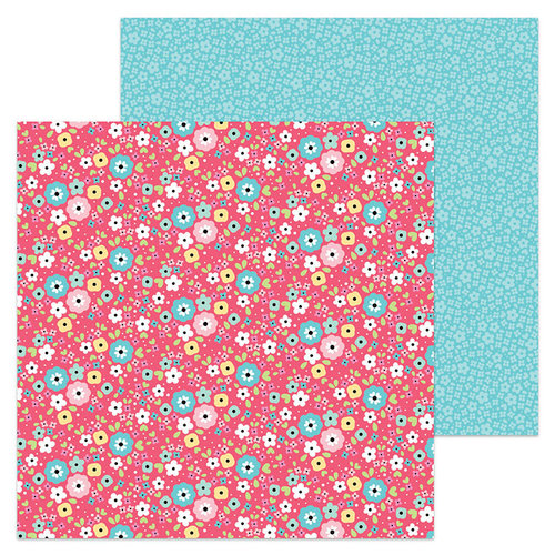 Doodlebug Design - So Punny Collection - 12 x 12 Double Sided Paper - I'm Daisy for You