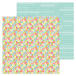 Doodlebug Design - Down on the Farm Collection - 12 x 12 Double Sided Paper - Country Garden