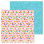 Doodlebug Design - Sweet Summer Collection - 12 x 12 Double Sided Paper - Sweet Summer