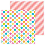 Doodlebug Design - Sweet Summer Collection - 12 x 12 Double Sided Paper - Beach Bag