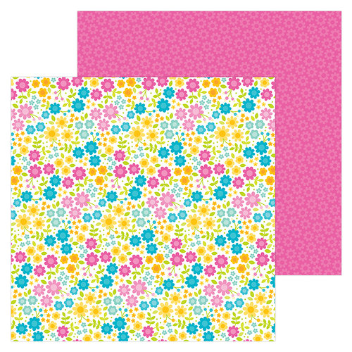 Doodlebug Design - Sweet Summer Collection - 12 x 12 Double Sided Paper - Summer Paradise
